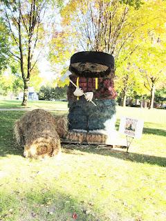Fremont Michigan Hay art Photos