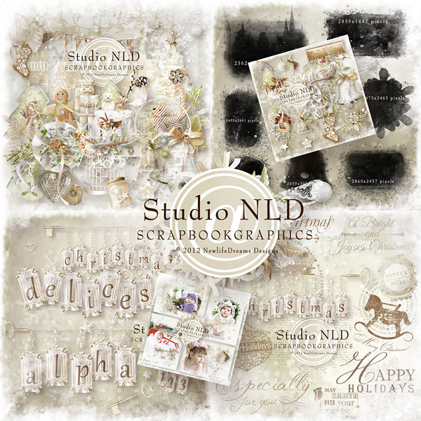 Holly Spring Designs Christmas Delices By Studio Nld