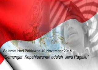 Tema Peringatan Hari Pahlawan 10 November 2015