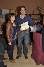 """Entrega del Primer Premio, III Certamen Literario Cofrade de Relato Breve, """"El Aguaó de Montellano"""""""