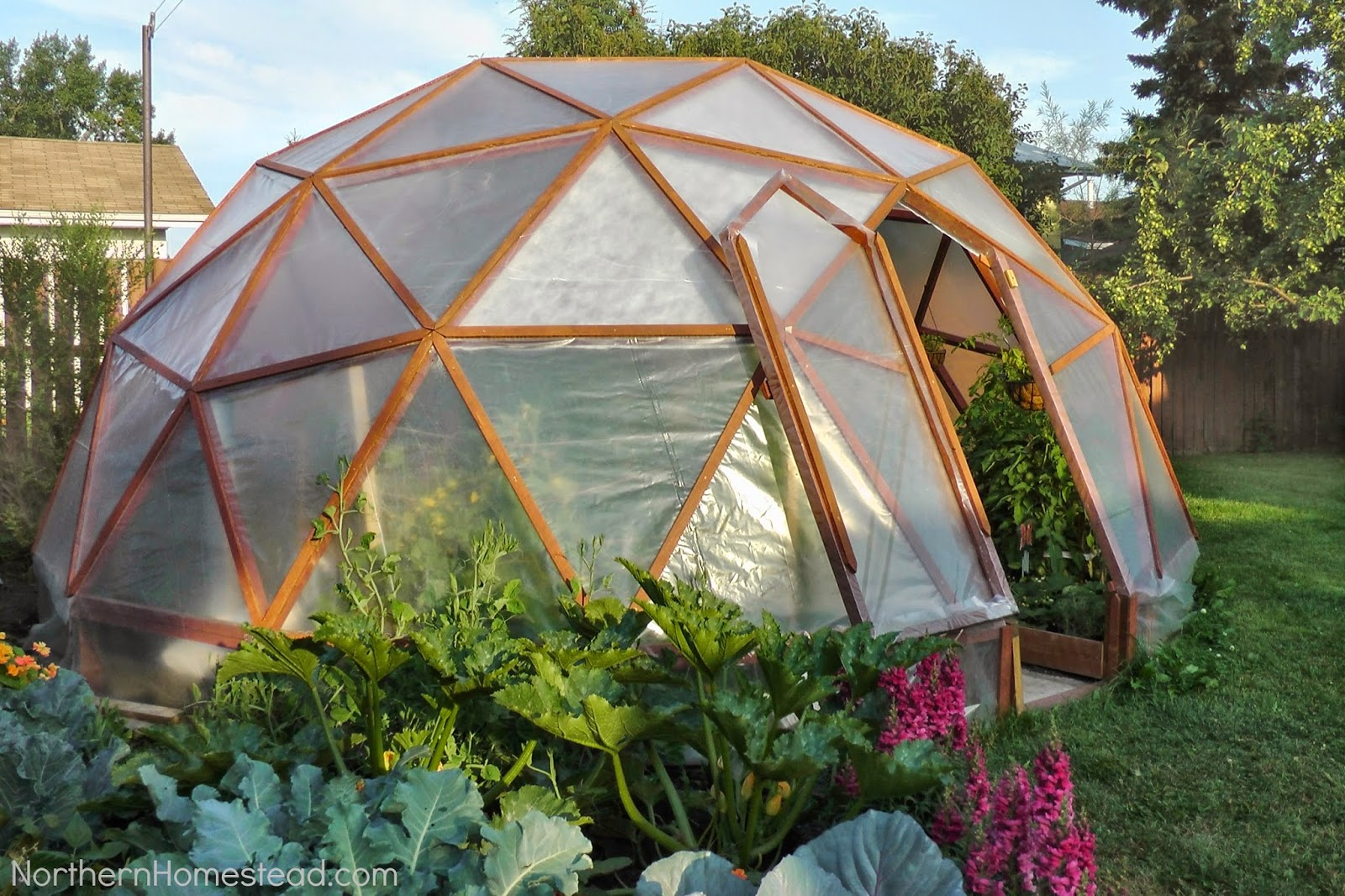 diy geodesic dome greenhouse instant knowledge