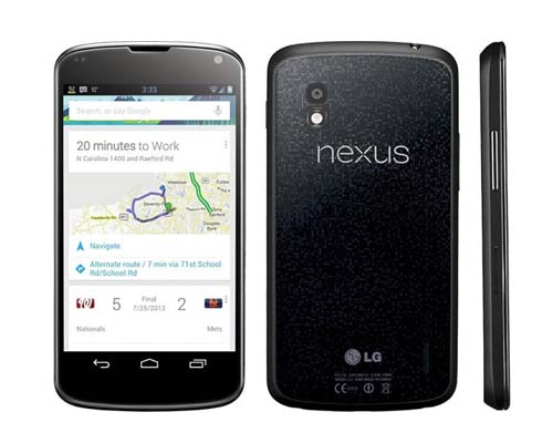 LG Nexus 4 E960 Hp Android Jelly Bean Harga Spesifikasi