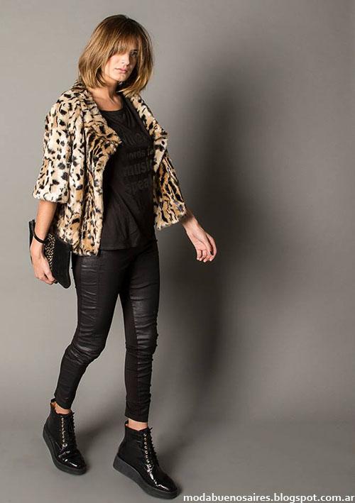 Marcela Pagella invierno 2015. Moda invierno 2015 ropa de mujer.