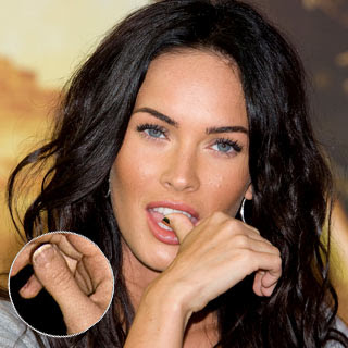 Megan Fox Weird Thumb