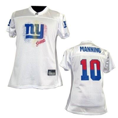 6541c08a6 NFL New York Giants %2310 Eli Manning White 2011 Fem Fan Women Jersey1996