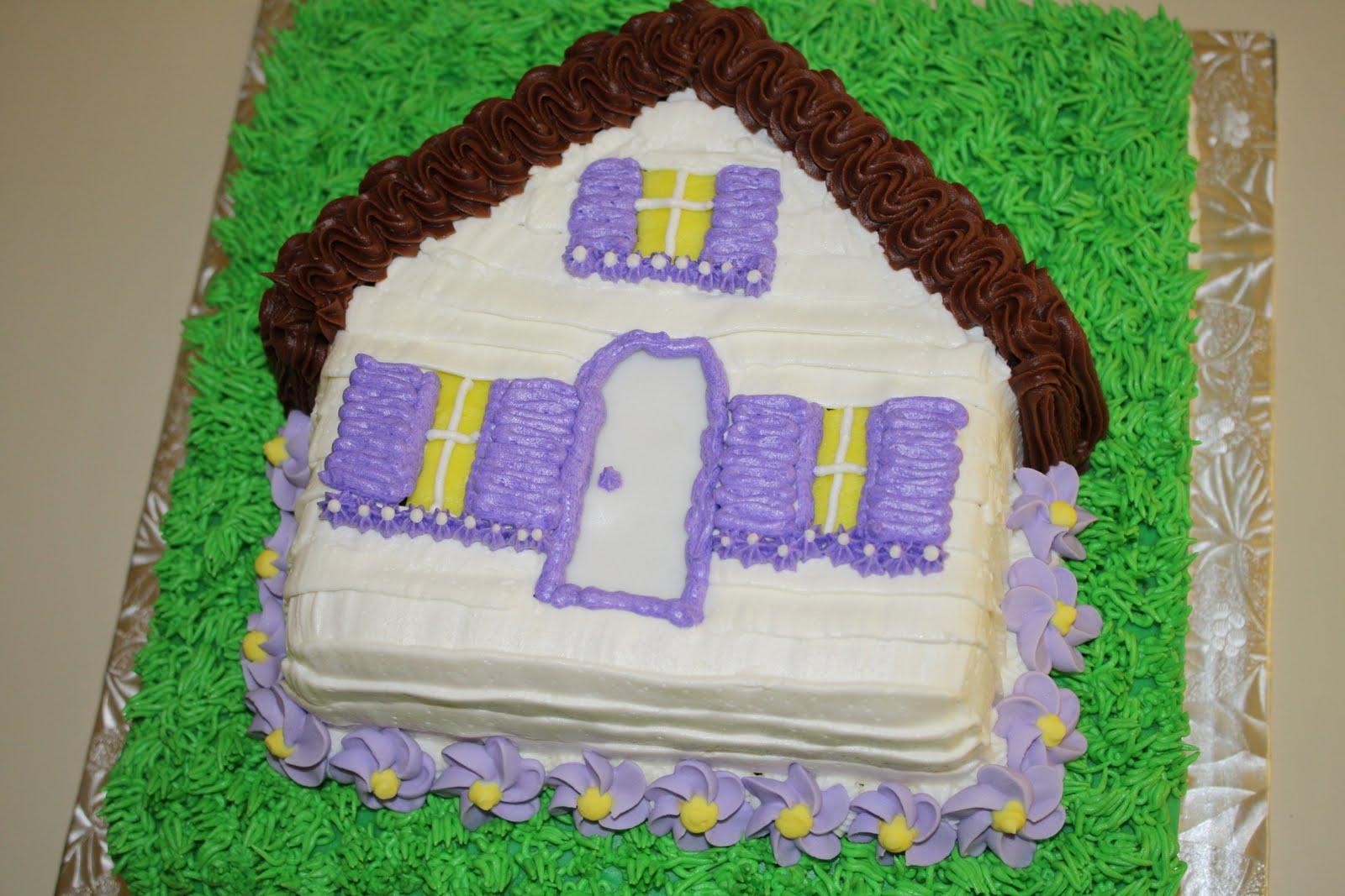 Cake Decorating Ideas For Housewarming : CC s Cake Decorating: Housewarming cake