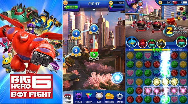 Game Android Gratis Terbaru Big Hero 6