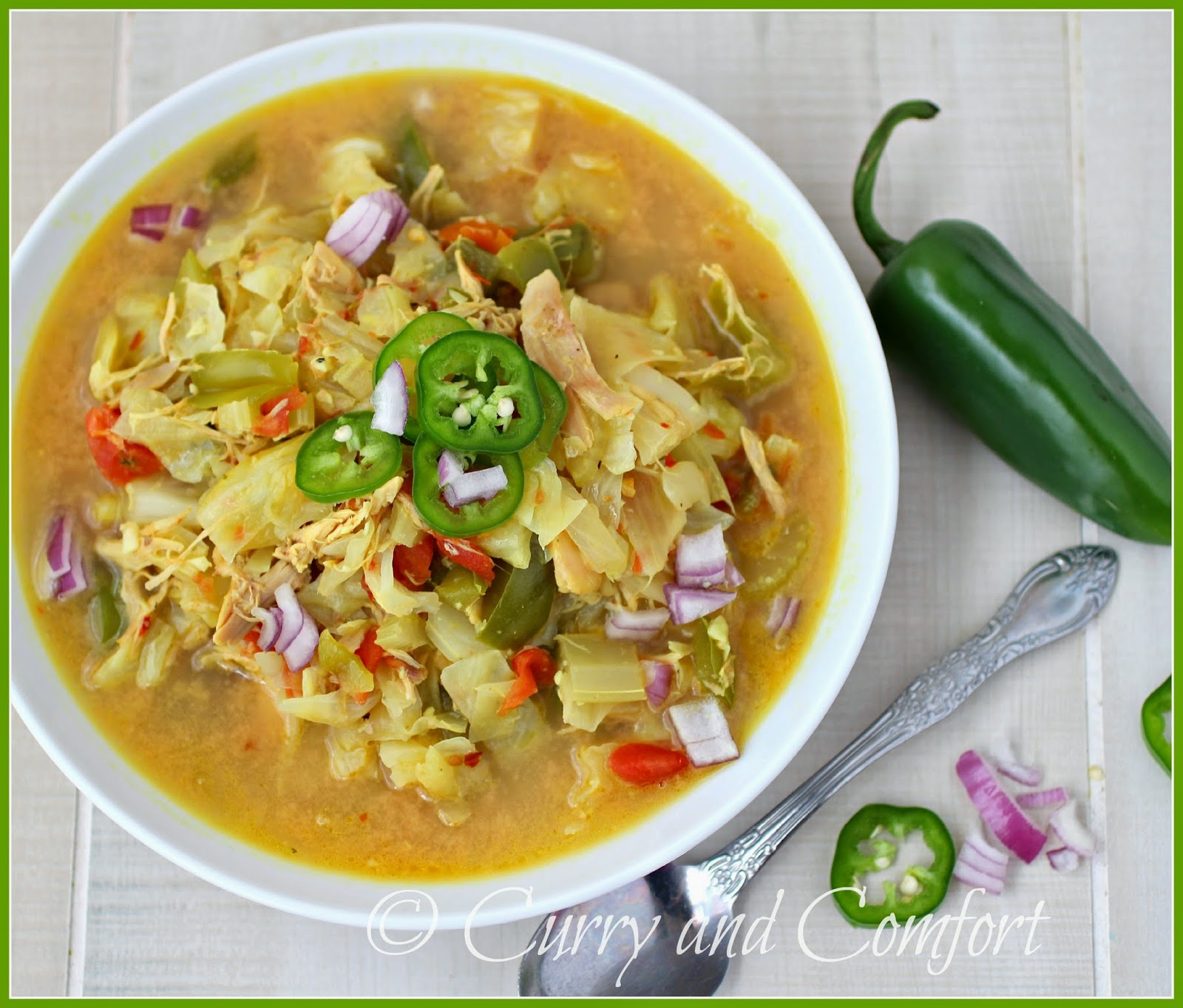 Cabbage and Chicken Soup advise