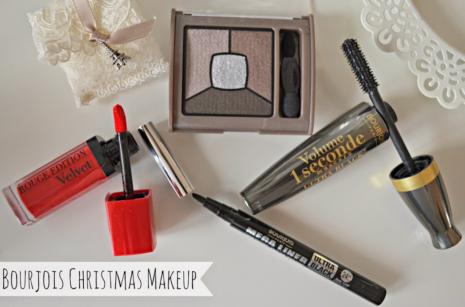 Bourjois christmas makeup
