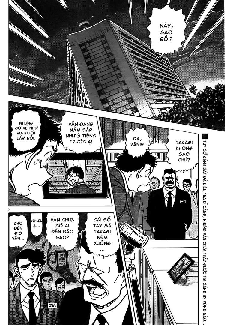 Detective Conan - Thám Tử Lừng Danh Conan chap 806 page 2 - IZTruyenTranh.com
