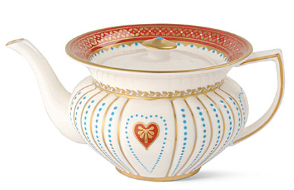 Queen of Hearts Tea Service Set by Wedgwood