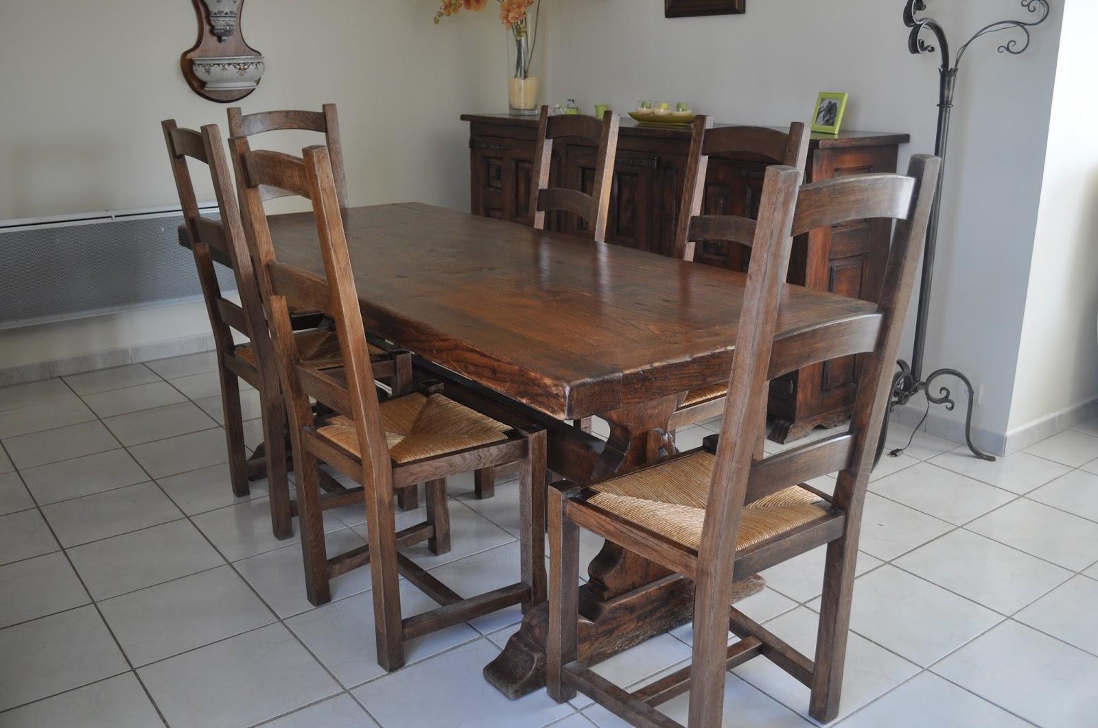 bois et patines nathalie madrenes table normande patinee. Black Bedroom Furniture Sets. Home Design Ideas