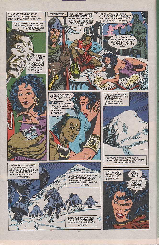 Conan the Barbarian (1970) Issue #258 #270 - English 6