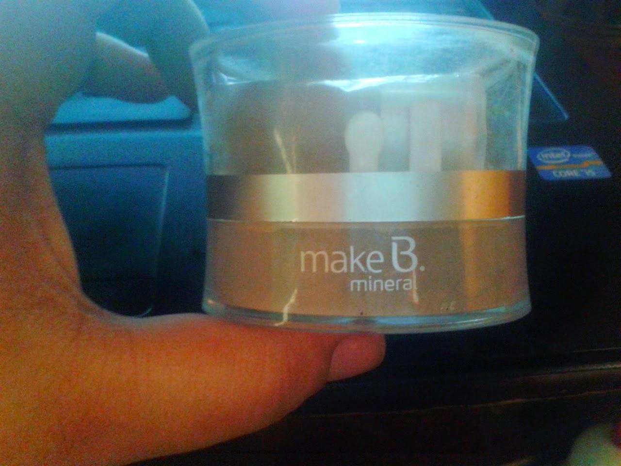 living doll, doll, Makeup, Make B, O Boticário, Base mineral em pó,Review, Maquiagem Kawaii,