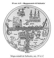 mapa mundi de Sallustio.