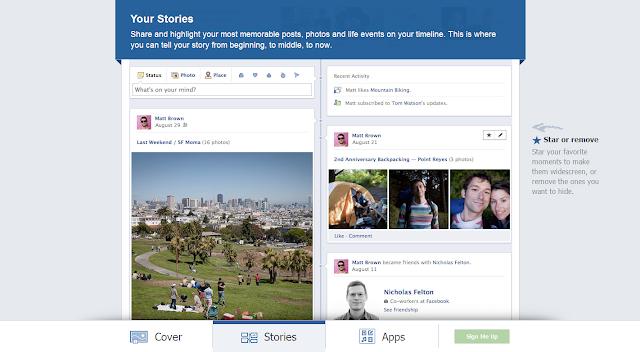 timeline+facebook+historias