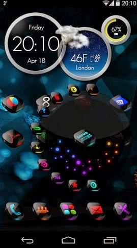 Next Launcher Theme CosMix 1.5 apk free download