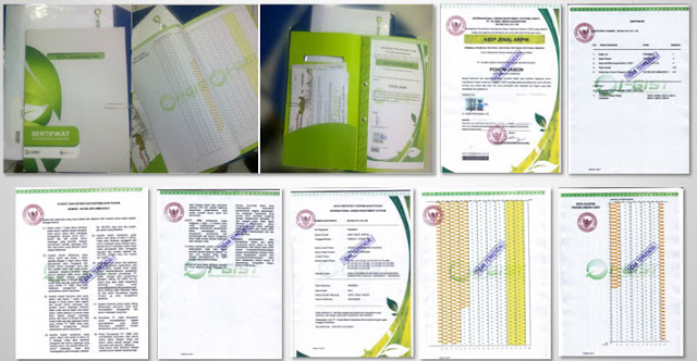 Contoh Sertifikat Notaris I-GIST PT.GMN