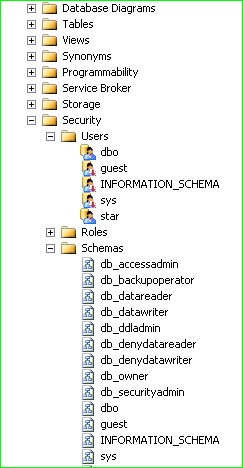 Sharepoint realm the database prinncipal owns a schema in the you will see a list of schema if you are not sure which schema is owned by that user right click a schema and see its properties on the genera page ccuart Images