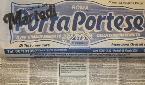 Gli annunci di lavoro pi strani di porta portese pizzi chi - Porta portese offerte lavoro roma ...