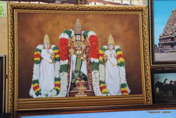 lord balaji oil painting