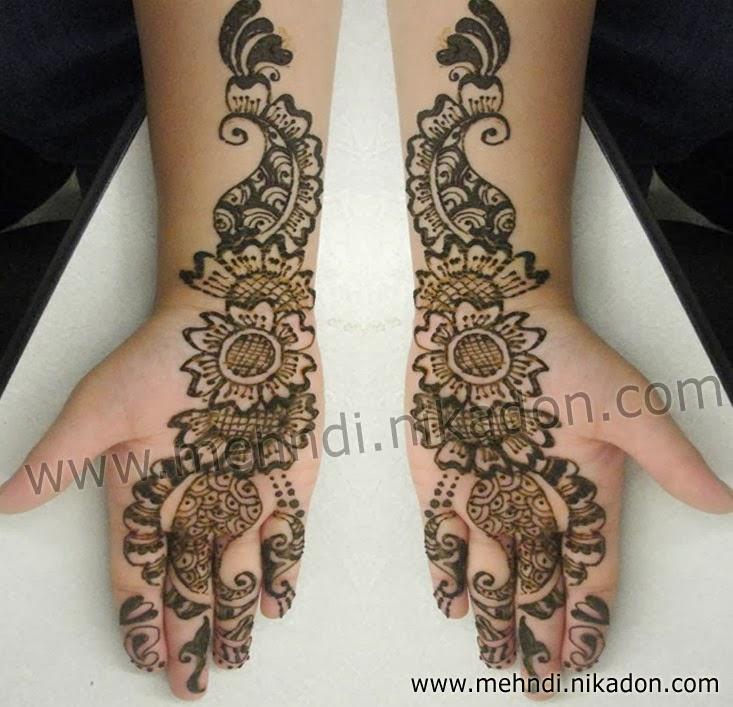 Mehndi For Girls : Best mehndi designs simple arabic for girls
