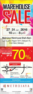 Metrojaya Warehouse Sale