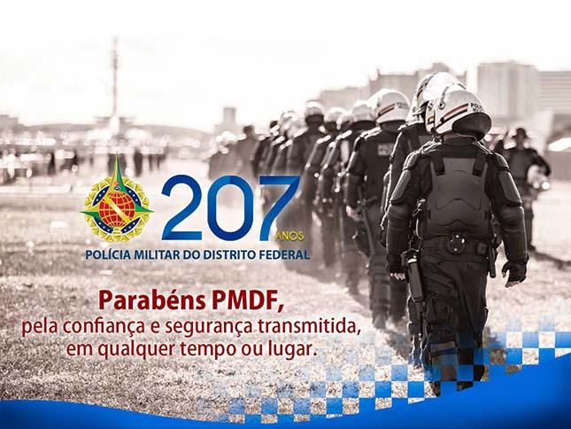 Parabéns PMDF