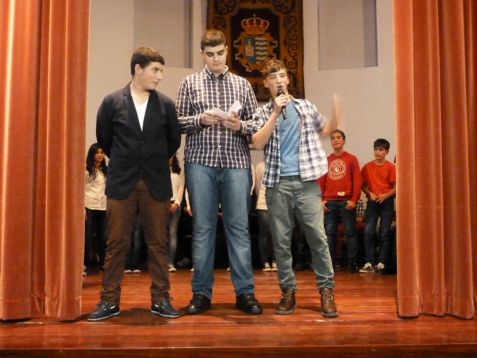 Miguel, Alejandro e Dani.