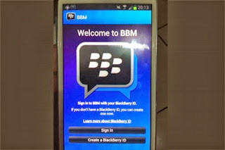 Tips Mengganti PIN BlackBerry Android