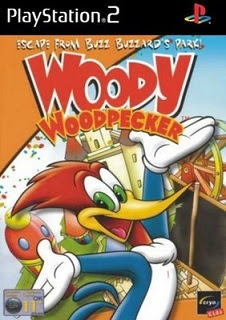 Woody Woodpecker: Escape from Buzz Buzzard Park   PS2