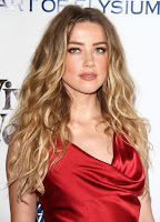 Amber Heard in sexy red gown at The Art of Elysium 2016 HEAVEN Gala red carpet photo