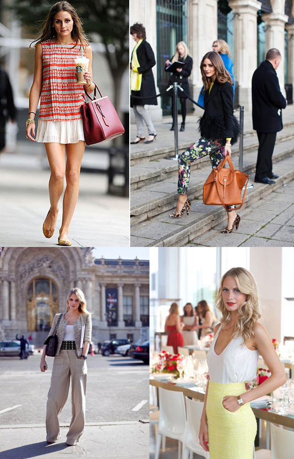 Olivia Palermo and Poppy Delevingne Fashion Icons