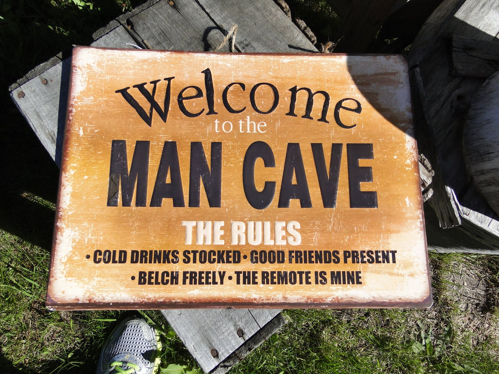 Man Cave Signs Ontario : From nature to home gifts for guys the camellia slate