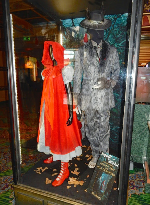 Red Riding Hood Wolf Into the Woods movie costumes