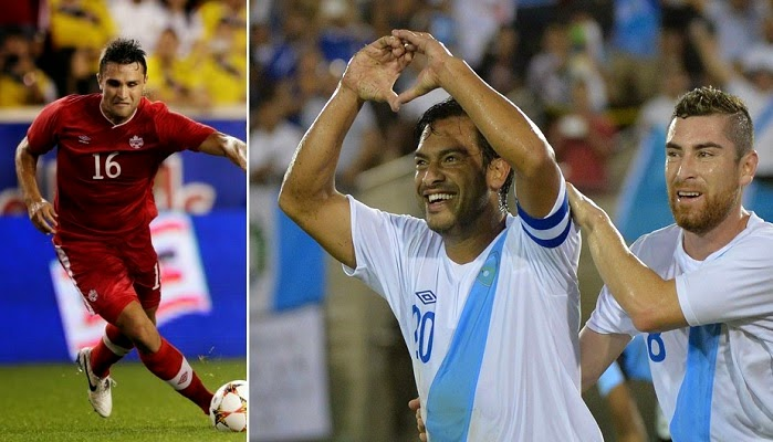Canada vs Guatemala en vivo