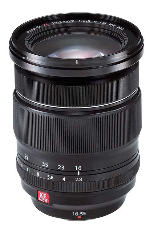 First impressions of the Fuji 16-55mm f/2.8 lens -- now available in stores