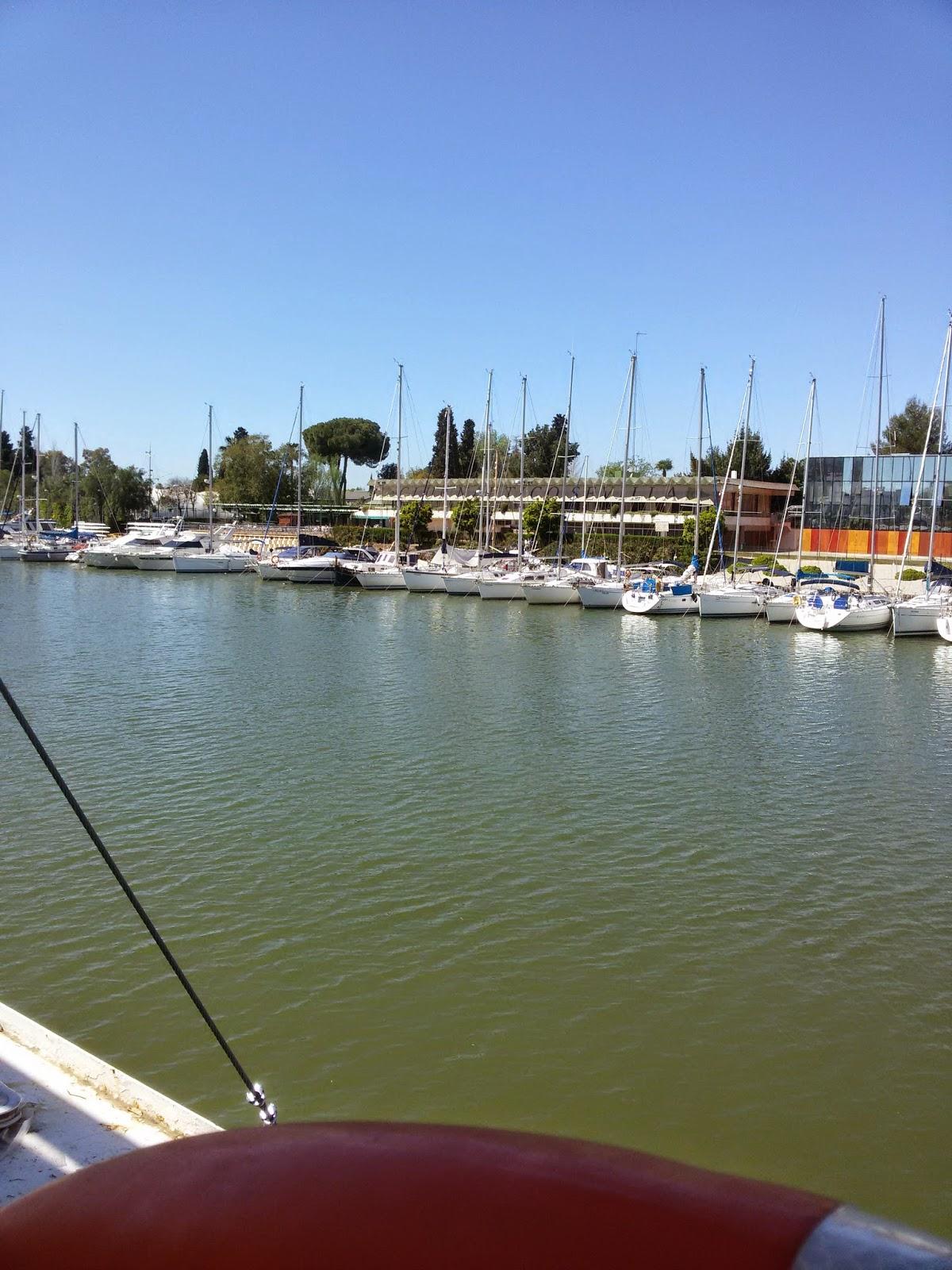 Seville marina