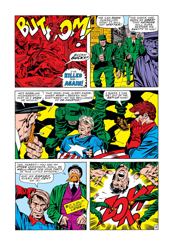Captain America (1968) Issue #107 #21 - English 19