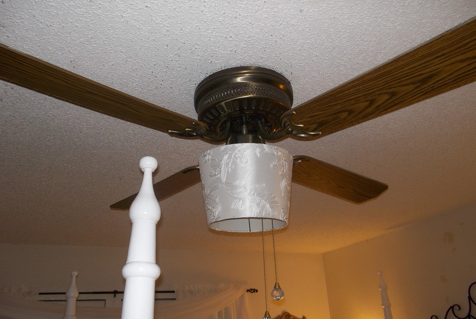 Little Bitty Damn Houze Drum Shade For Ceiling Fan