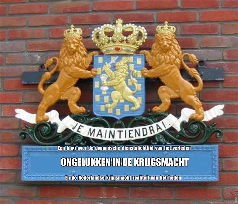 Dienstongelukken in de Nederlandse krijgsmacht