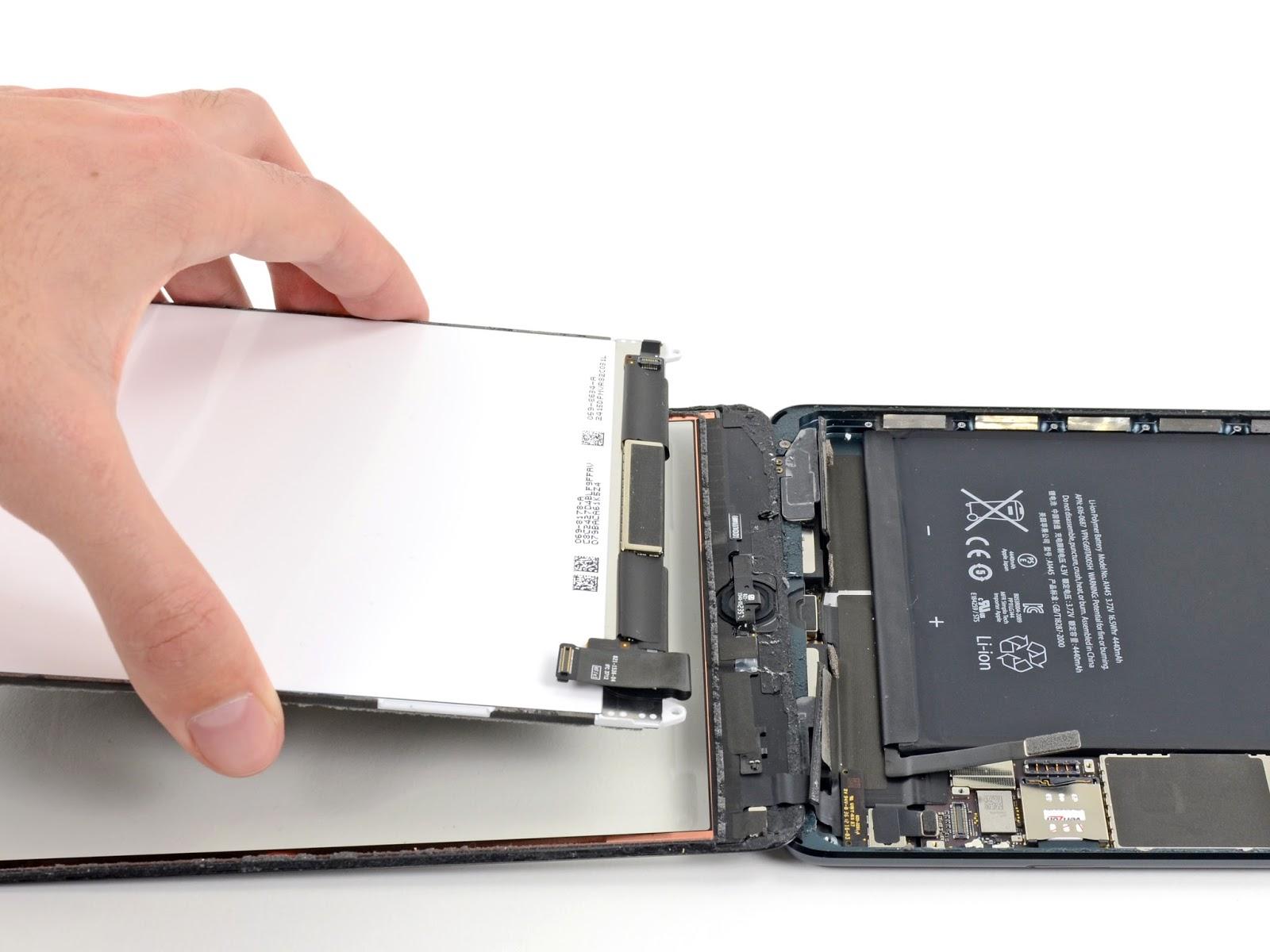 Замена аккумулятора на ipad 4 своими руками
