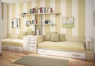 Brown and grey teenage bedroom ideas