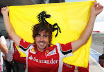 fan of Fernando Alonso and Ferrari