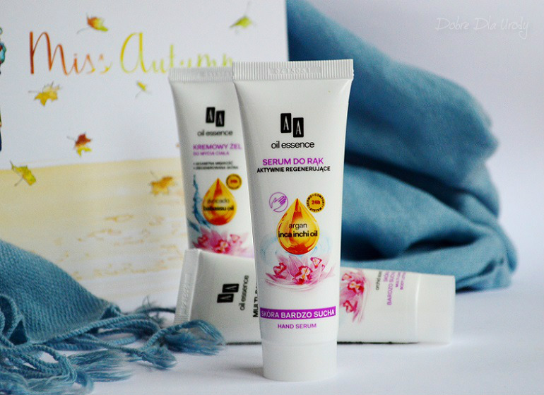ShinyBox Miss Autumn AA Oil Essence Serum do rąk aktywnie regenerujace