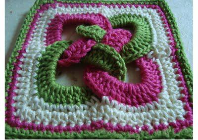 Trico y crochet madona m a gr ficos a crochet ganchillos - Como tejer mantas al crochet ...
