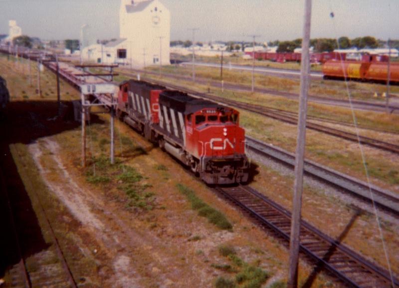 Trackside Treasure Then And Now Portage La Prairie 1980 2010 Part 2