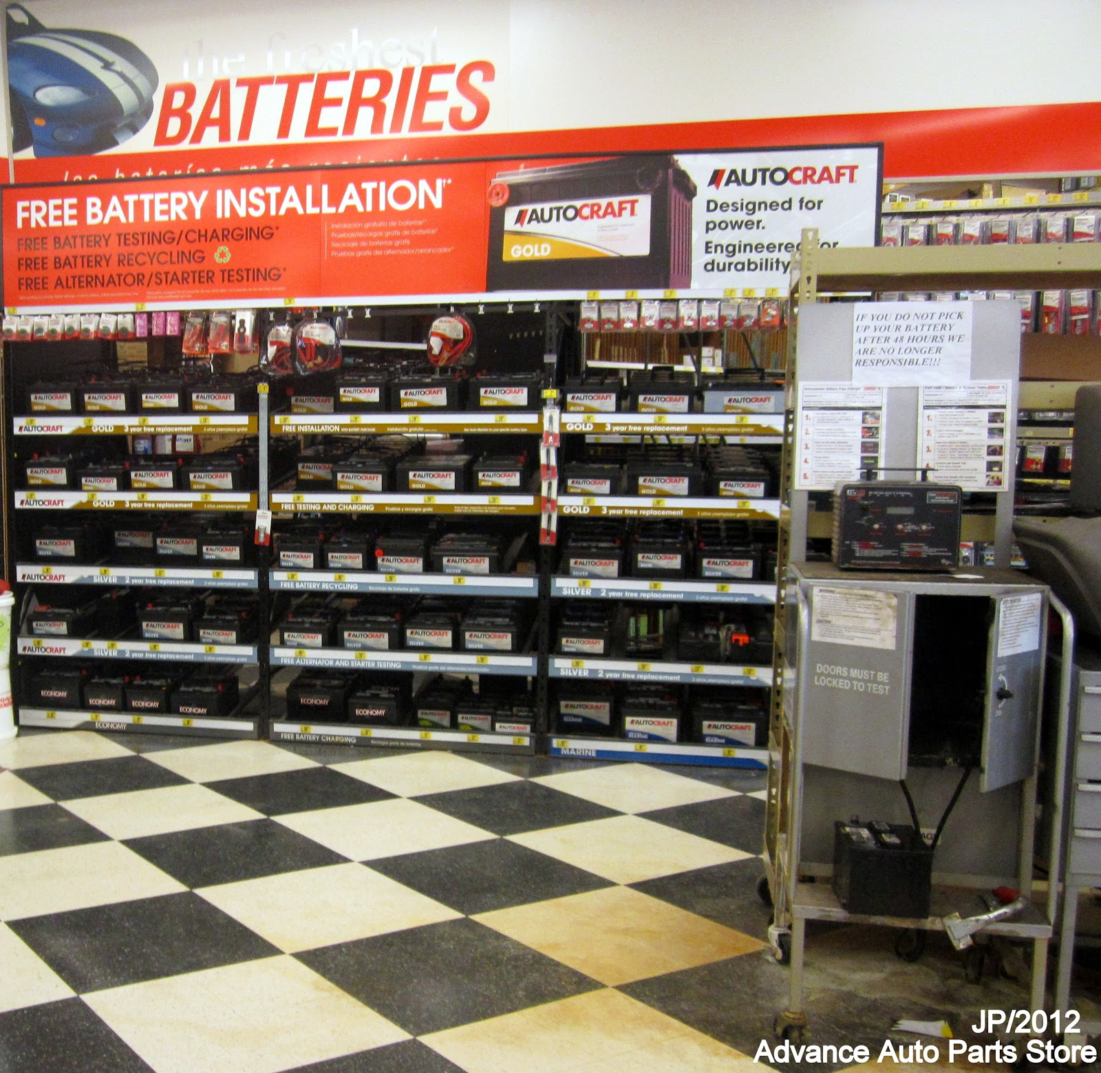 A replacement auto battery provides the jolt your vehicle needs, especially when the temperatures start to fall and a quick start is a necessity. Choose from a wide variety of car batteries to match your specific make and model.