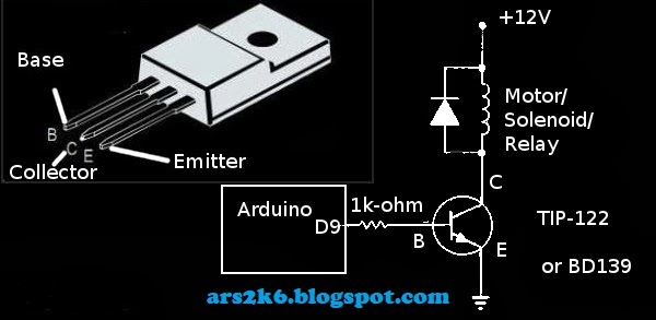 Arduino Controlling High Voltage Device Using