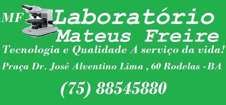 Laboratório Mateus Freire